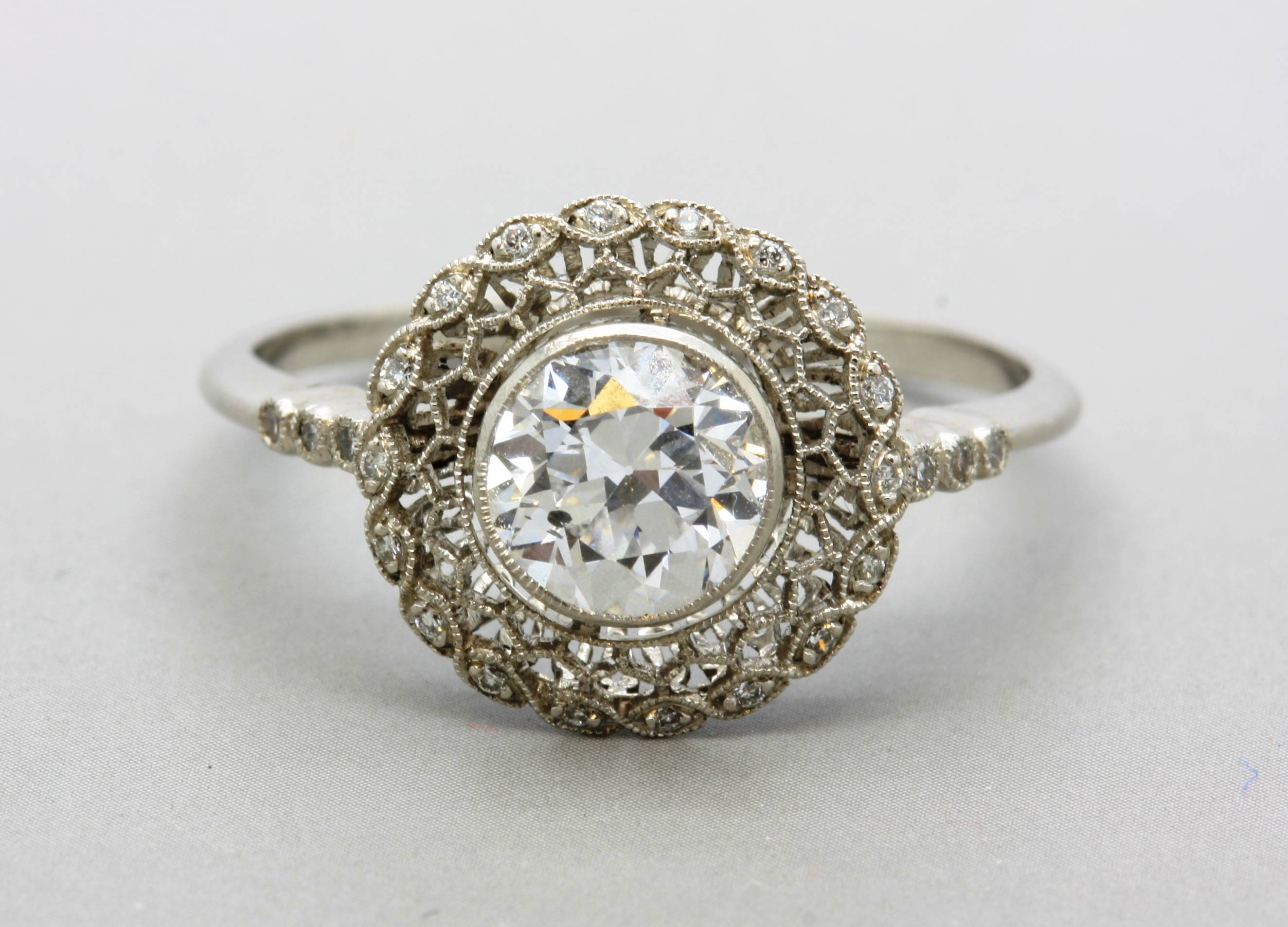 Vintage Engagement Rings Etsy – Jewelry Exhibition Pertaining To Vintage Celtic Engagement Rings (View 15 of 15)