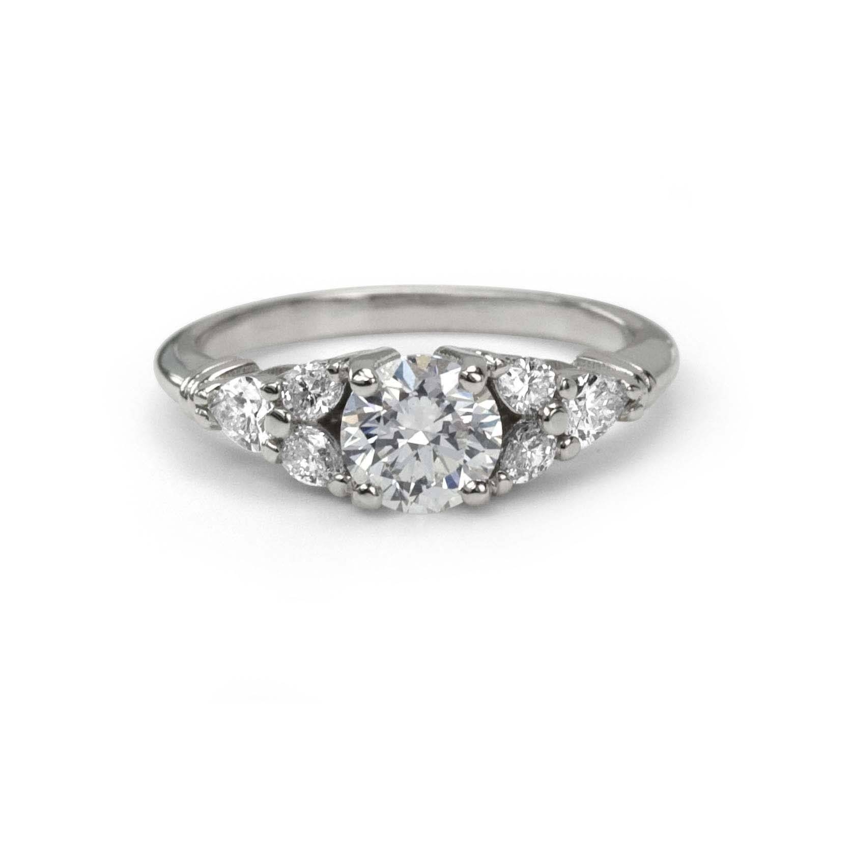 Vintage Inspired Engagement Rings | Antique | Studio1098 Toronto Inside Antique Inspired Wedding Rings (View 11 of 15)