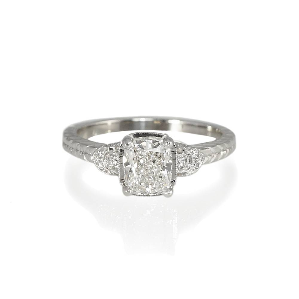Vintage Inspired Engagement Rings | Wedding, Promise, Diamond With Regard To Antique Inspired Wedding Rings (View 12 of 15)
