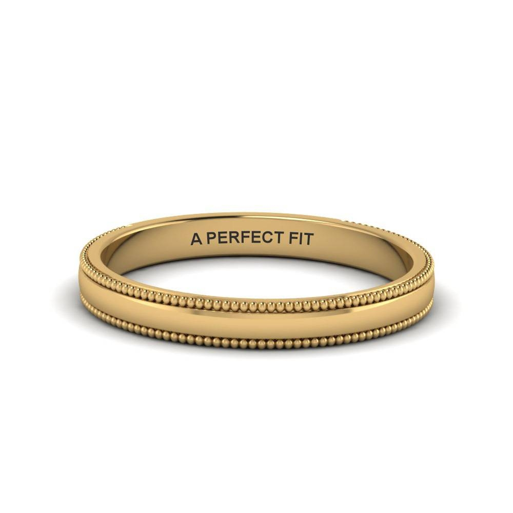 Wedding Band – Classic Gold Wedding Bands | Fascinating Diamonds In Classic Gold Wedding Rings (View 15 of 15)