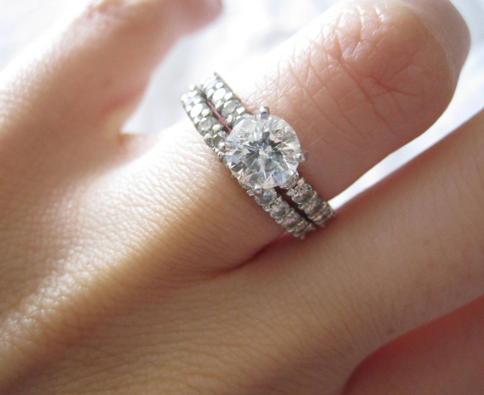 Wedding Band Engagement Ring Pertaining To Wedding Bands And Engagement Rings (View 11 of 15)
