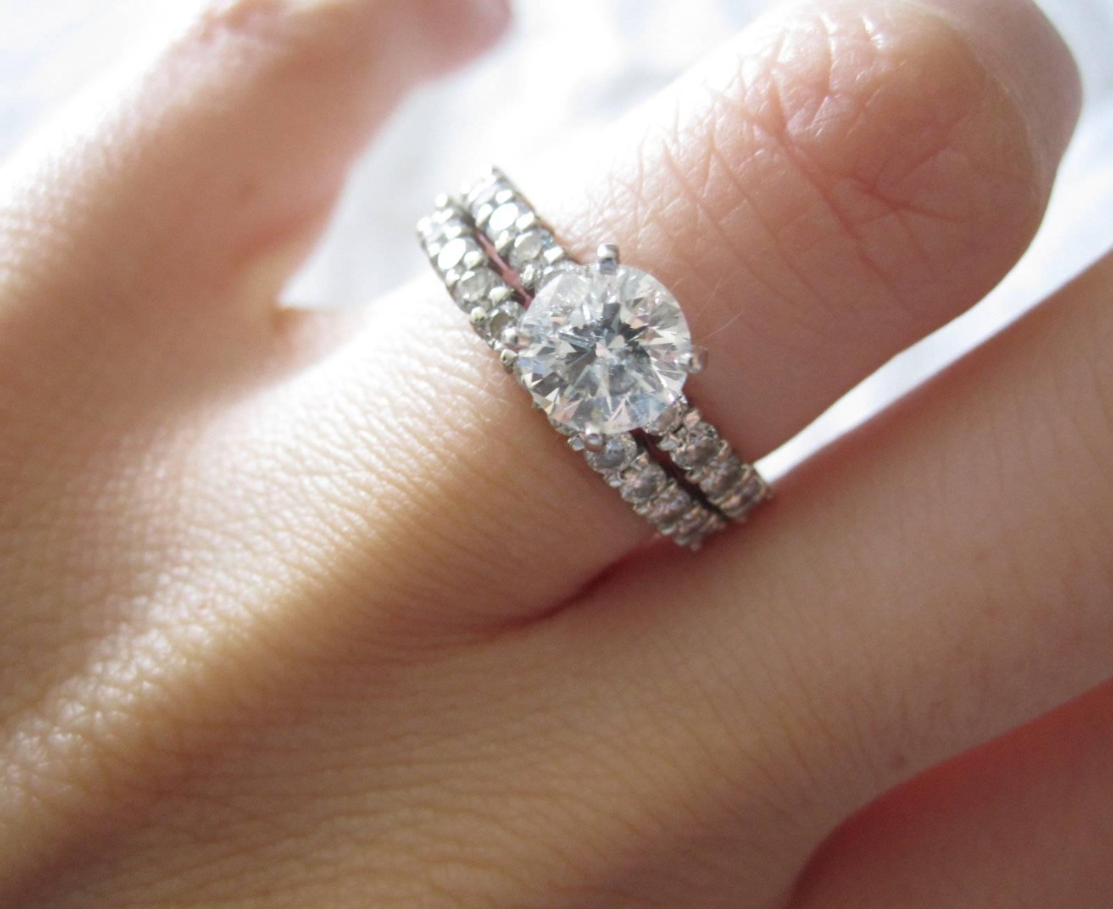 Wedding Band Engagement Ring Pertaining To Wedding Bands And Engagement Rings (View 10 of 15)