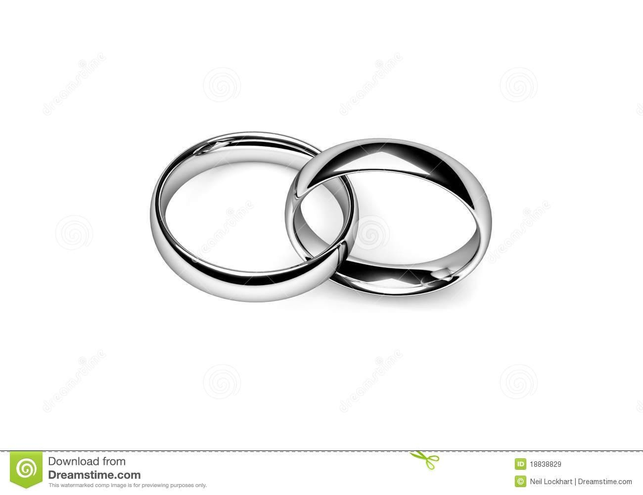Wedding Bands Royalty Free Stock Images – Image: 18838829 With Regard To Interlocking Wedding Bands (View 2 of 15)