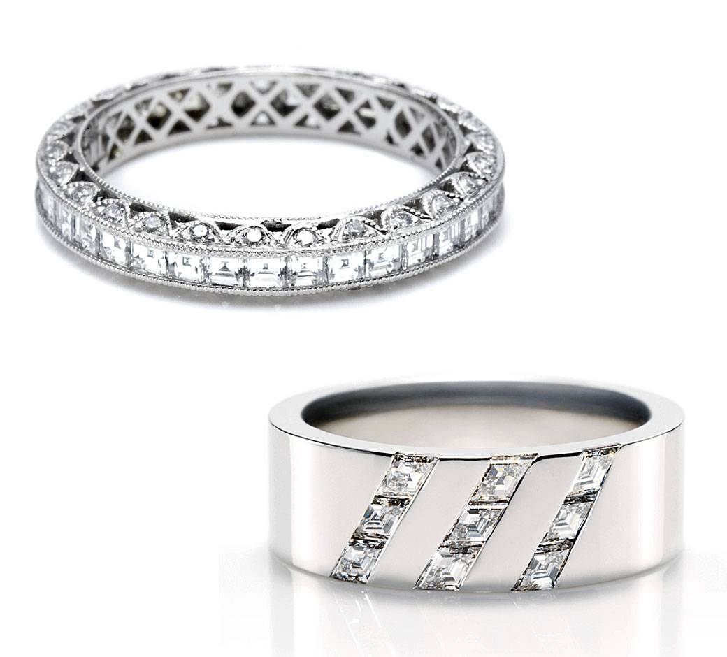 Wedding Bands: Wedding Bands For Men Platinum Regarding Harry Winston Wedding Bands Price (View 14 of 15)