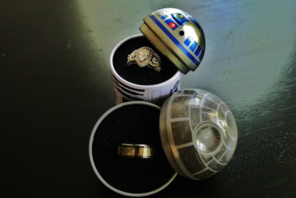 Wedding Ring Box In Superhero Wedding Bands (View 14 of 15)