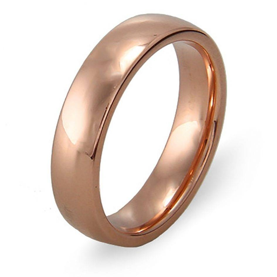 Wedding Ring Get Classic Rose Gold Wedding Bands | Fascinating Regarding Male Rose Gold Wedding Bands (View 13 of 15)