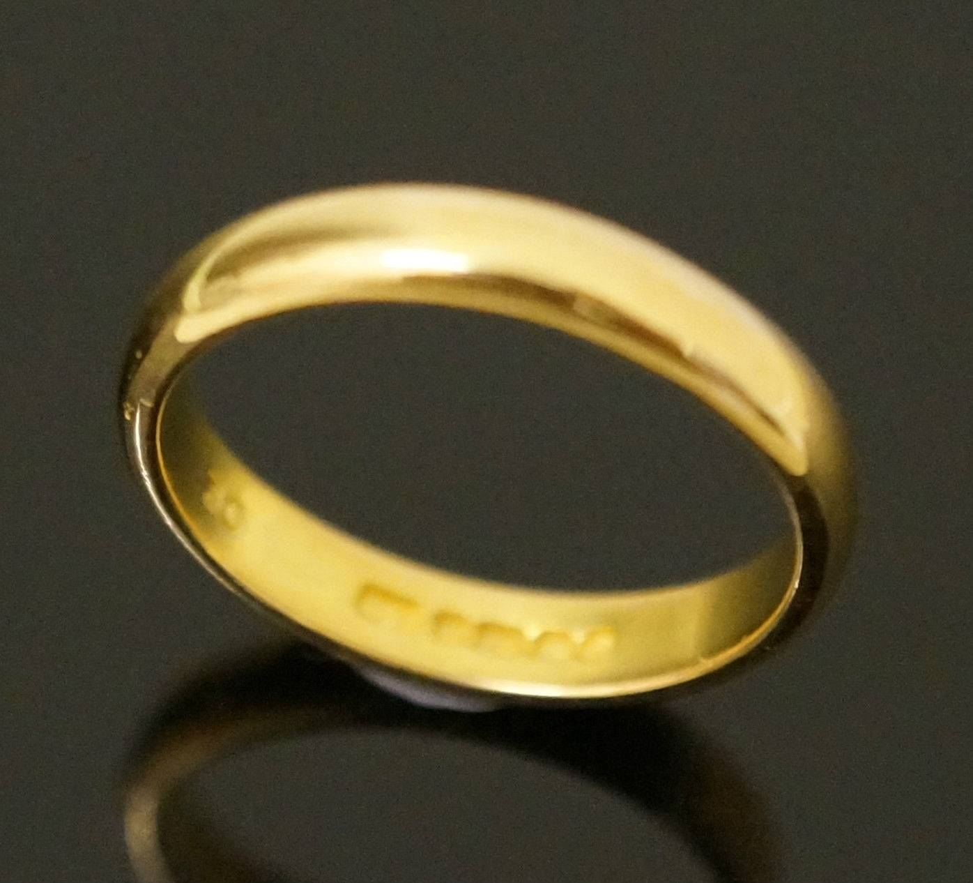 Wedding Rings : 22 Carat Gold Wedding Rings Dazzling 22 Carat Gold In 22 Carat Gold Wedding Rings (View 12 of 15)