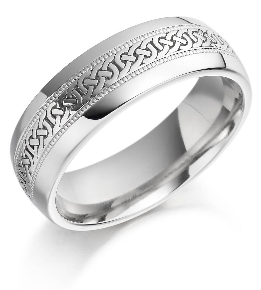 Wedding Rings : Awesome Wedding Rings For Guys Men S Celtic Intended For Guys Wedding Bands (View 15 of 15)