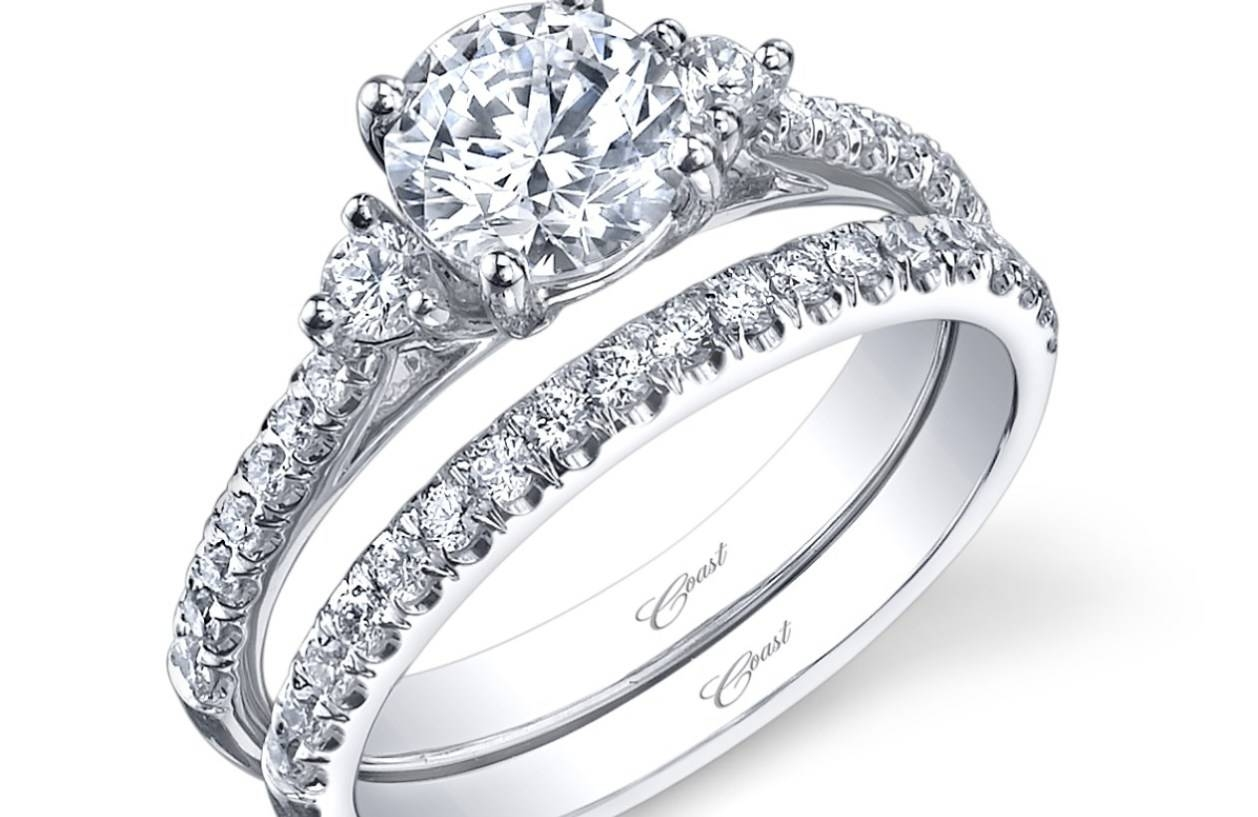 Wedding Rings : Bewitch Gratify Engagement Ring And Wedding Ring Within Wedding And Engagement Rings That Fit Together (View 12 of 15)