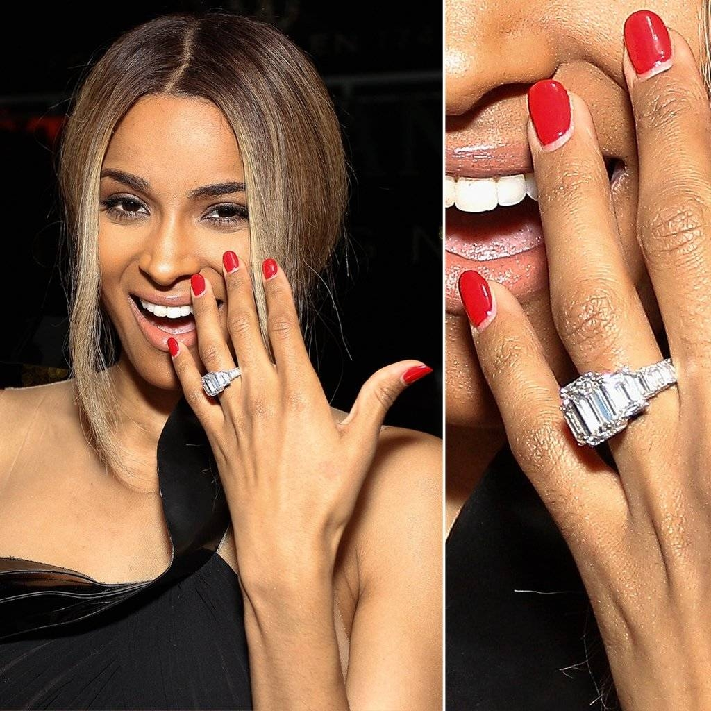 Featured Photo of Beyonce's Wedding Rings