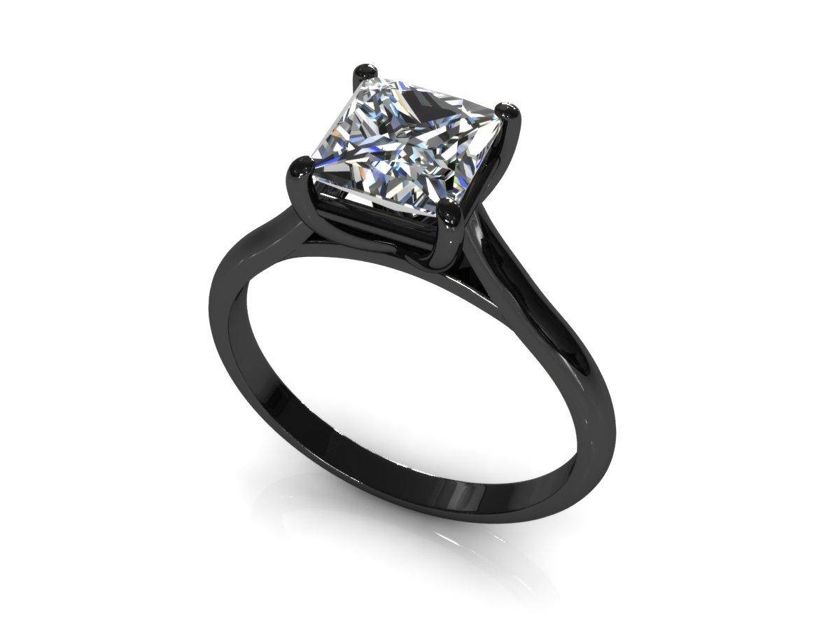 Wedding Rings : Black Diamond Wedding Bands Rings The Elegant For Black Diamond Wedding Bands For Her (View 6 of 15)
