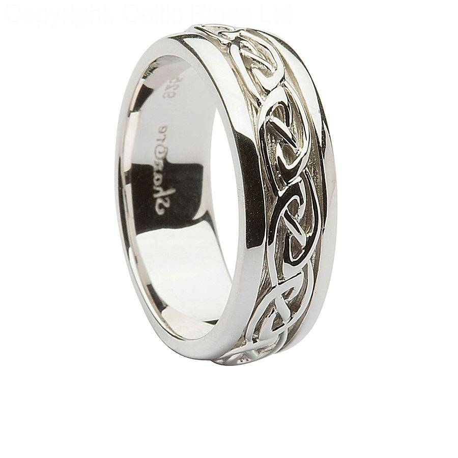Wedding Rings : Celtic Engagement Rings And Wedding Bands The Pertaining To Mens Celtic Engagement Rings (View 10 of 15)