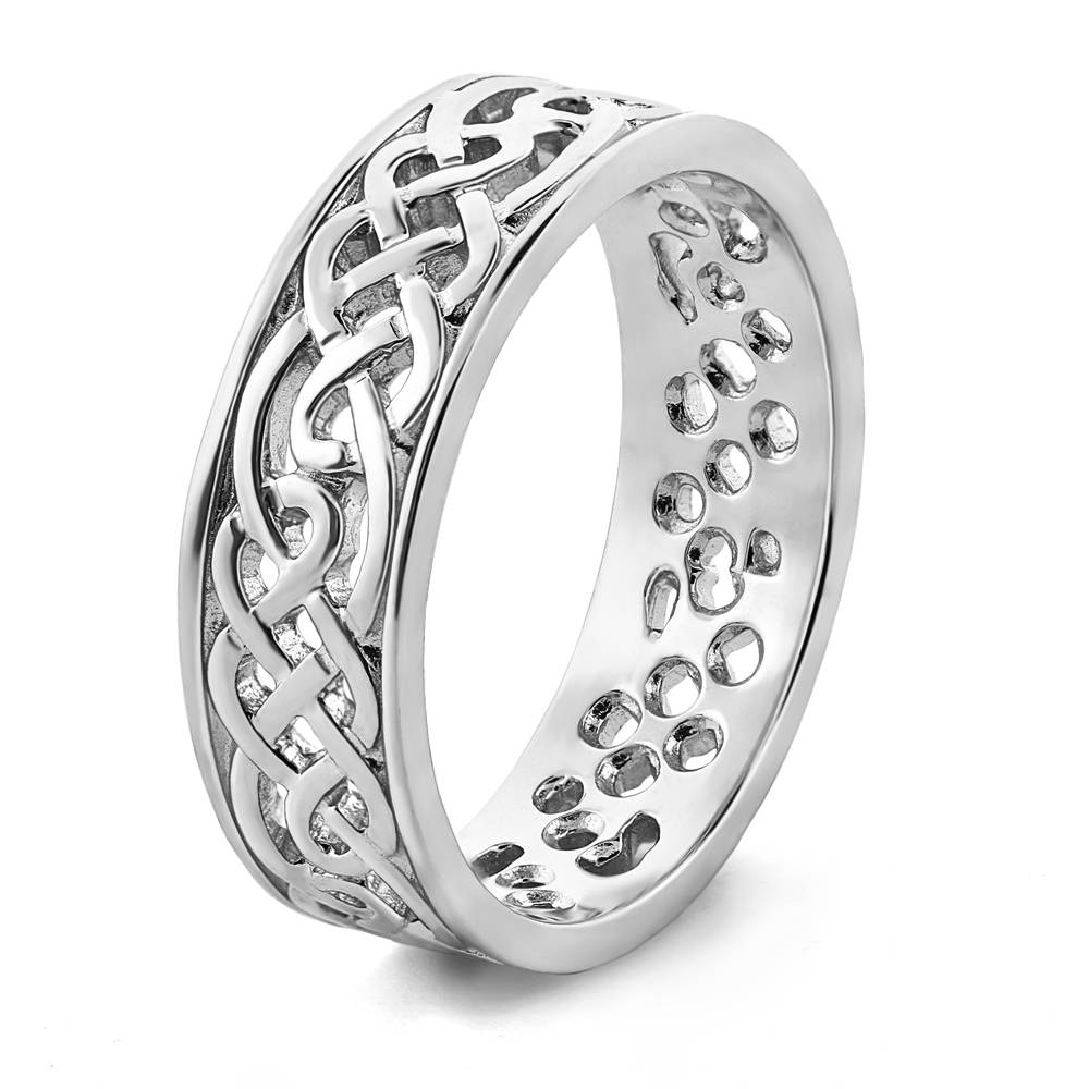 Wedding Rings : Celtic Wedding Bands For Him Irish Celtic Wedding Intended For Irish Mens Wedding Bands (View 10 of 15)