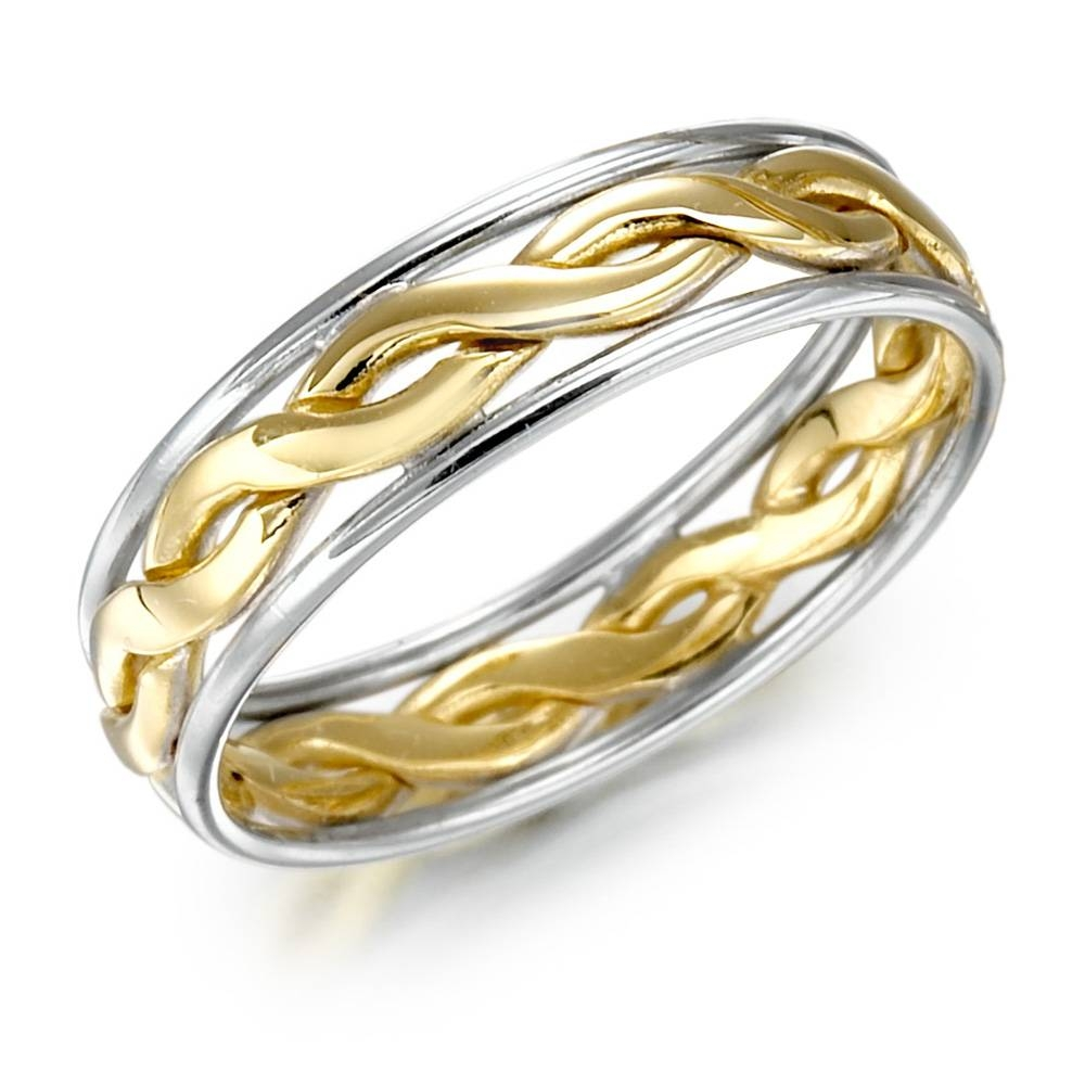 2017 Popular Celtic Wedding Bands For Him