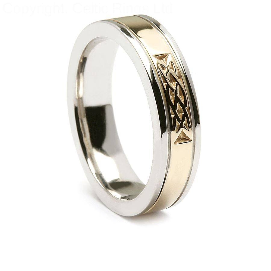 Wedding Rings : Celtic Wedding Rings For Him And Her The Celtic With Regard To Irish Wedding Bands For Men (View 11 of 15)