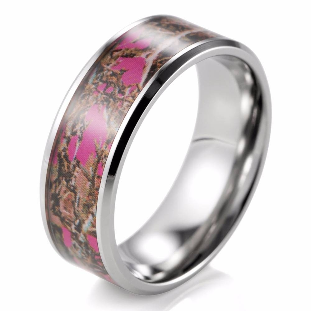 wedding rings cheap pink camo wedding ring sets pink camo within camouflage wedding bands for - Pink Camo Wedding Ring Sets