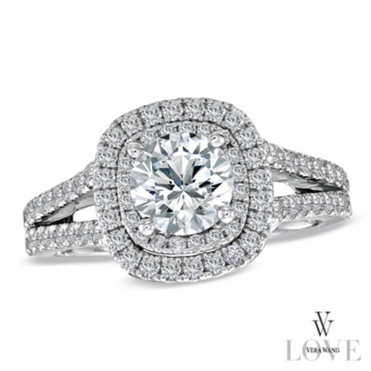 Wedding Rings : Cushion Cut Diamond Engagement Rings Zales – Rings With Zales Diamond Engagement Rings (View 11 of 15)