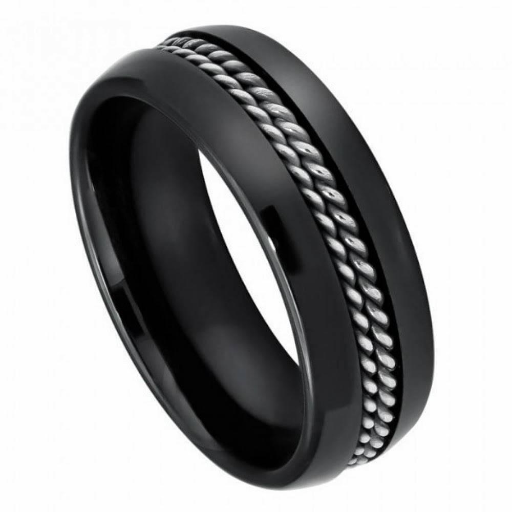 Wedding Rings : Custom Ceramic Wedding Bands Ceramic Wedding Bands In Ceramic Wedding Bands (View 15 of 15)