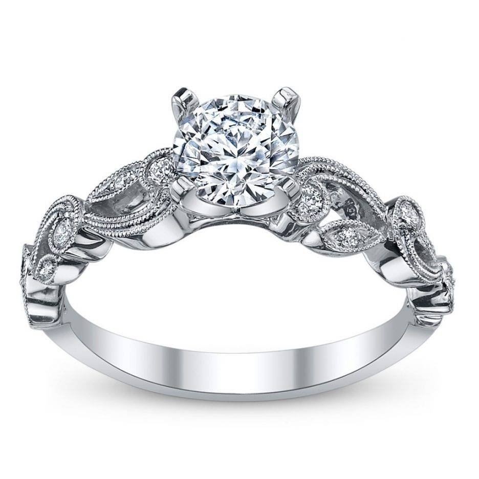 Wedding Rings : Diamond Band Setting Types Flush Setting Regarding Engagement Rings Inside Wedding Band (View 13 of 15)