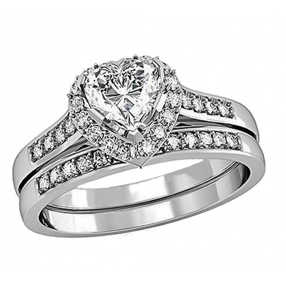 Wedding Rings : Diamond Engagement Wedding Ring Sets Engagement Throughout Engagement Wedding Rings (View 7 of 15)