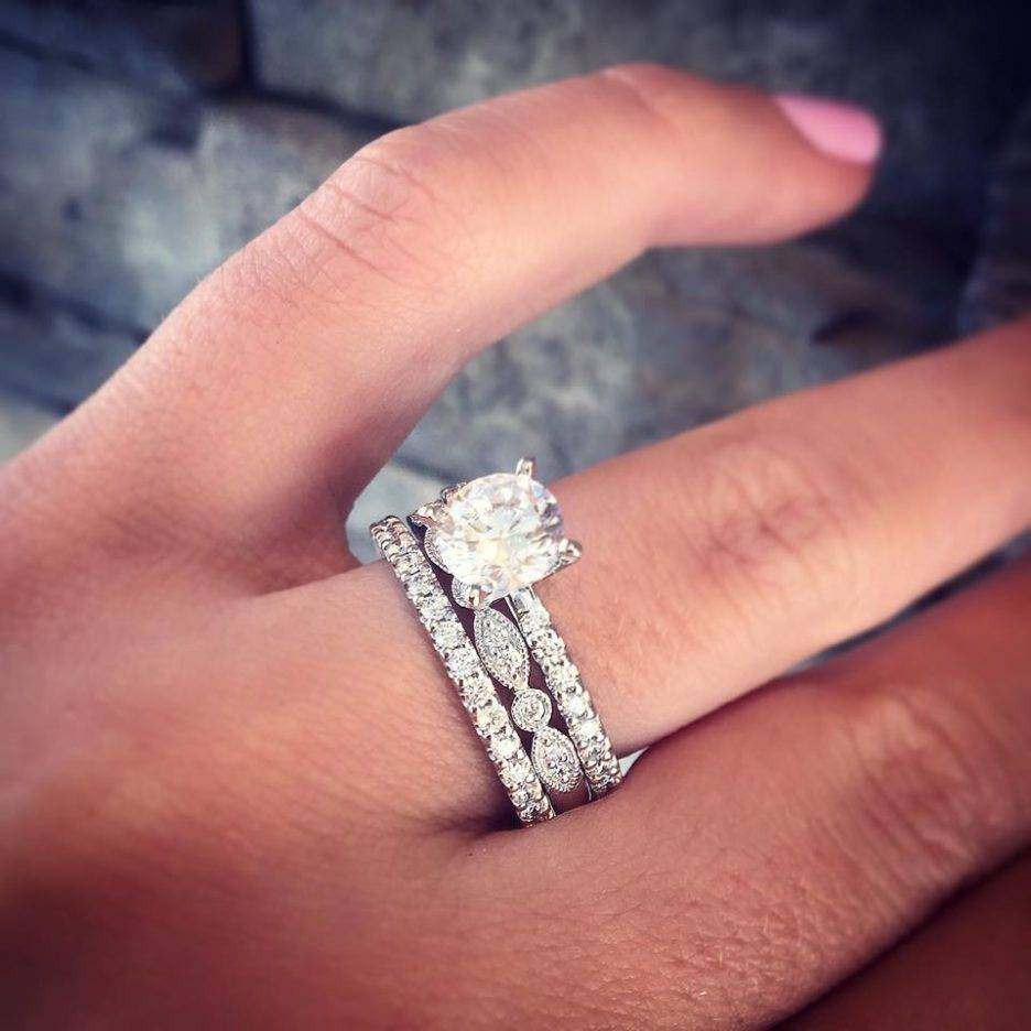 15 Best Ideas of Engagement Rings And Wedding Bands For Women