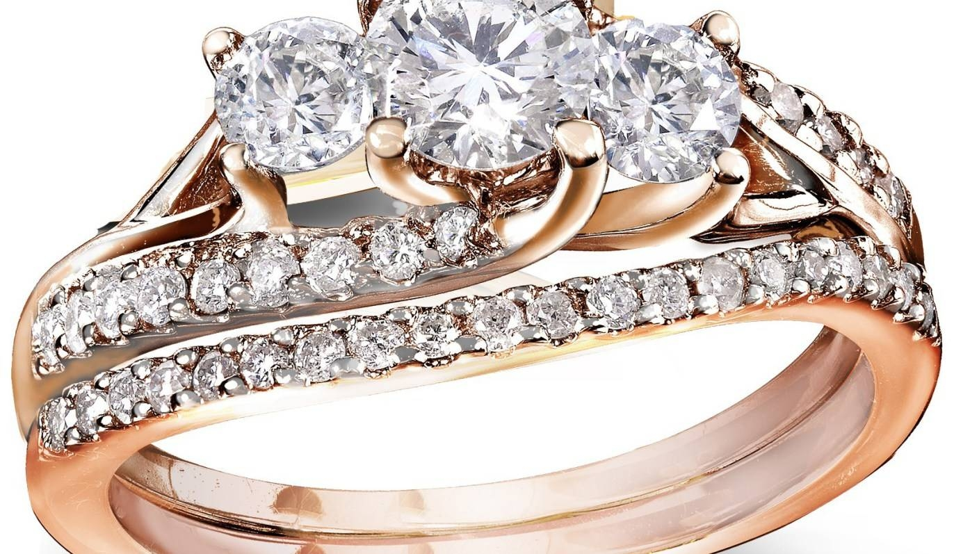 Wedding Rings : Engagement Rings And Wedding Band Sets Wonderful Within Walmart Women's Wedding Bands (View 11 of 15)