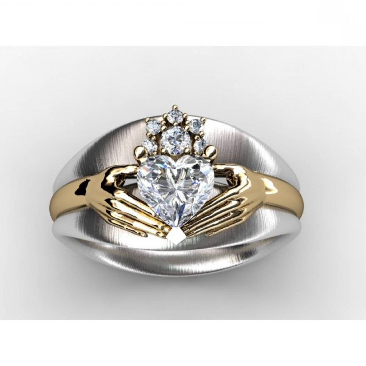 Wedding Rings : Engagement Rings Uk Gaelic Jewelry Claddagh Pertaining To Gaelic Engagement Rings (View 11 of 15)