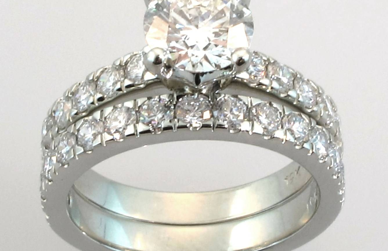 Wedding Rings : Engagement Rings Wedding Ring Sets Momentous White Regarding Engagement Wedding Rings Sets (View 15 of 15)