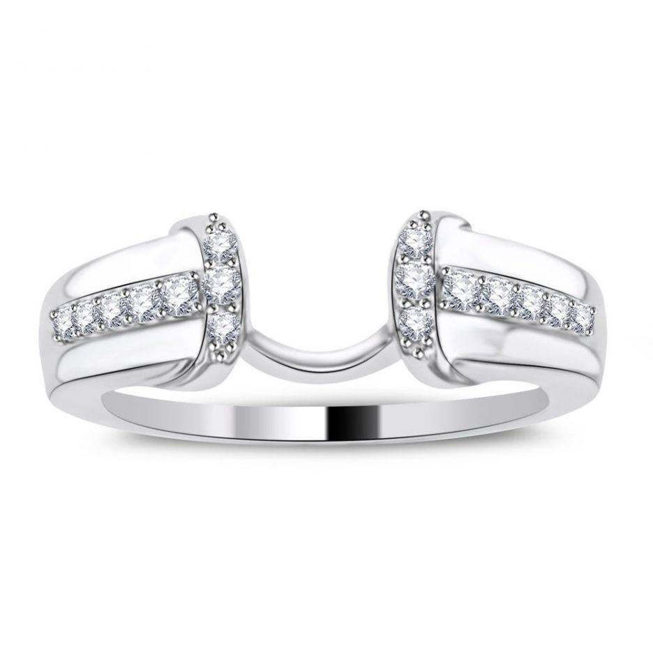 Wedding Rings : Engagement Sets Rings Engagement Ring And Band Set With Interlocking Engagement Rings (View 11 of 15)