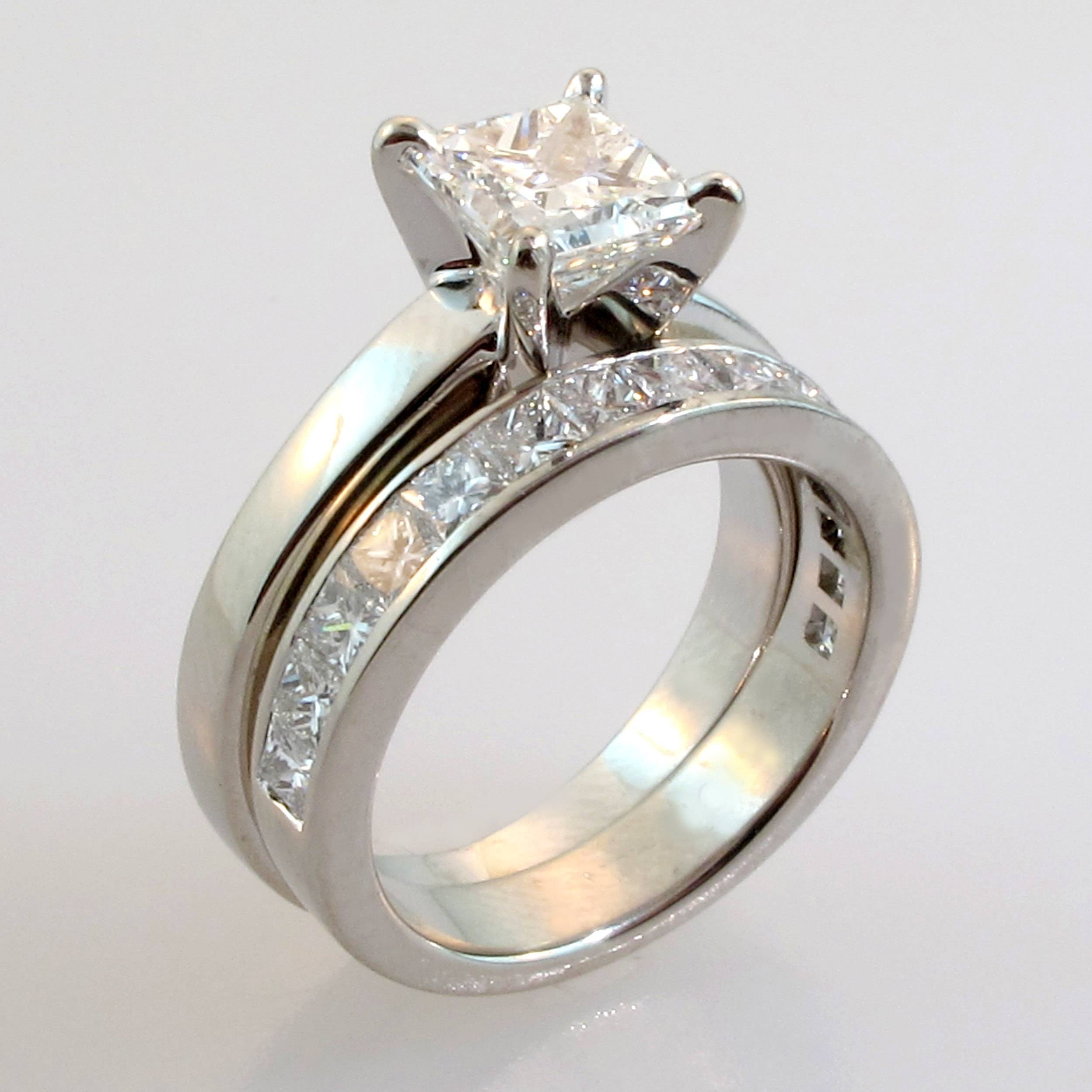 Wedding Rings : Engagment Ring Set White Gold Engagement Ring Sets With Regard To Wedding And Engagement Ring Sets (View 10 of 15)