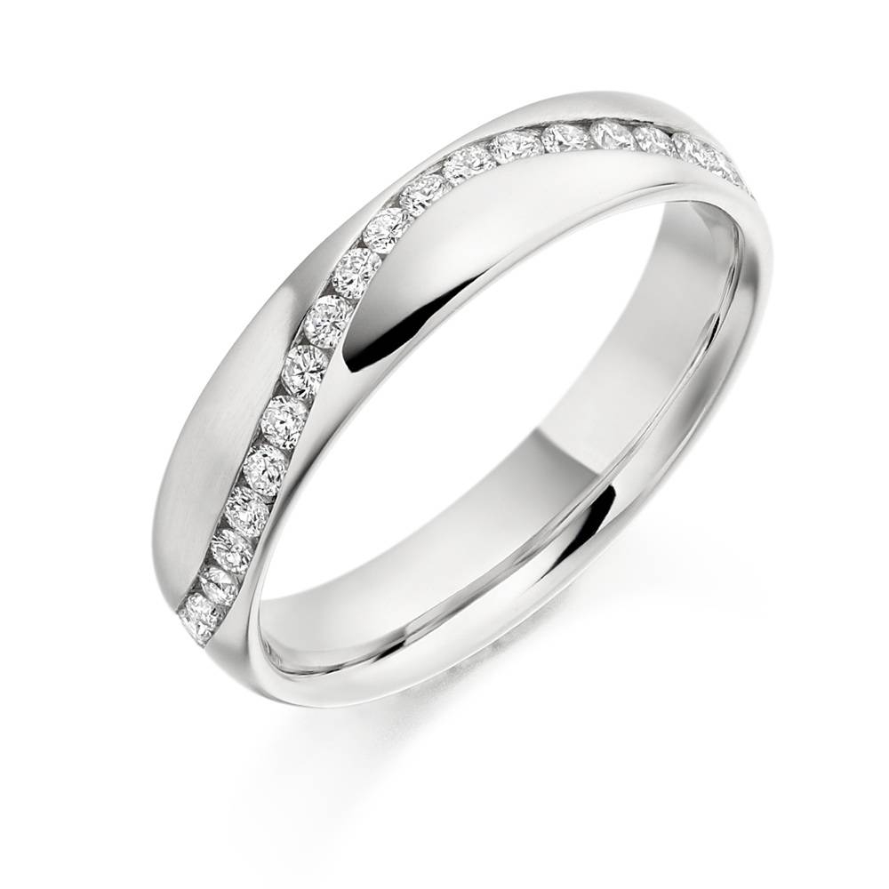 Wedding Rings – Fabricius Green Jewellers Of Shrewsbury Within Small Diamond Wedding Bands (View 14 of 15)