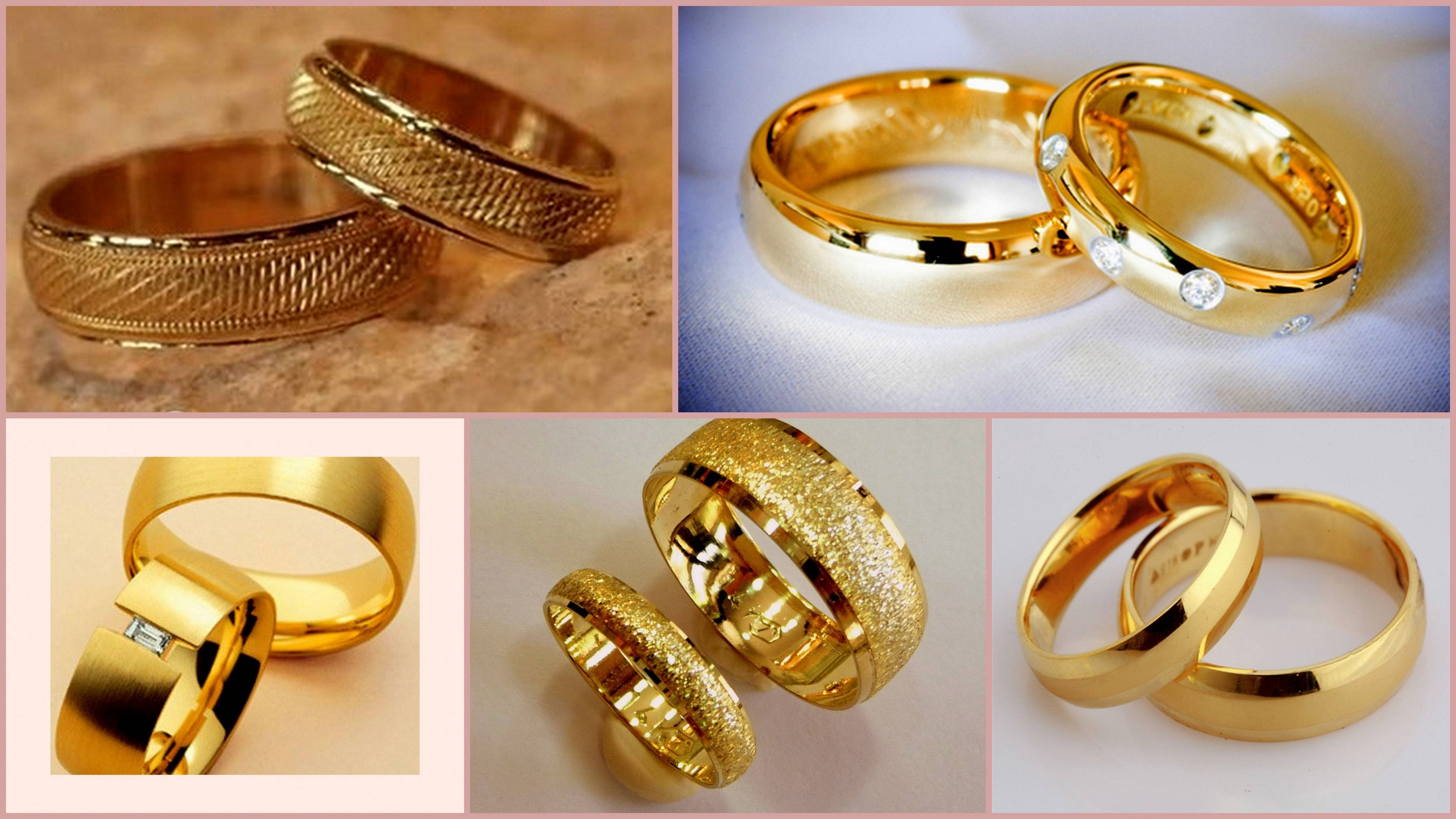 Wedding Rings For Couples Gold | Wedding, Promise, Diamond In Engagement Gold Rings For Couples (View 14 of 15)