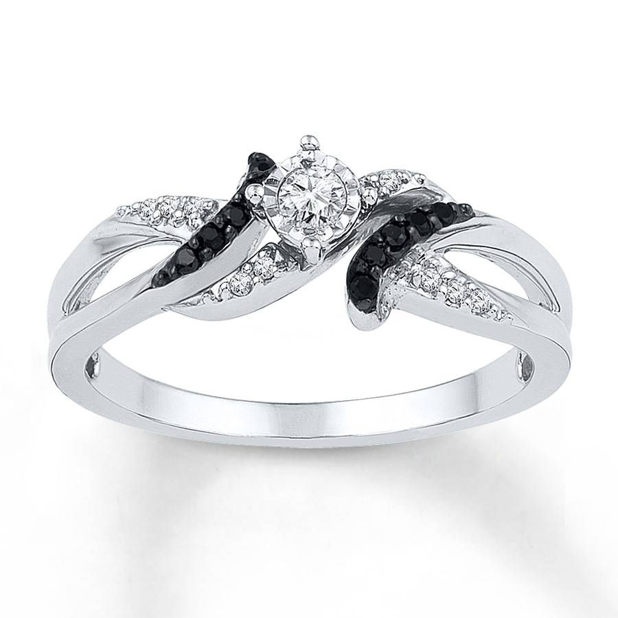 Wedding Rings For Her Pertaining To Black Diamond Wedding Rings For Her (View 11 of 15)
