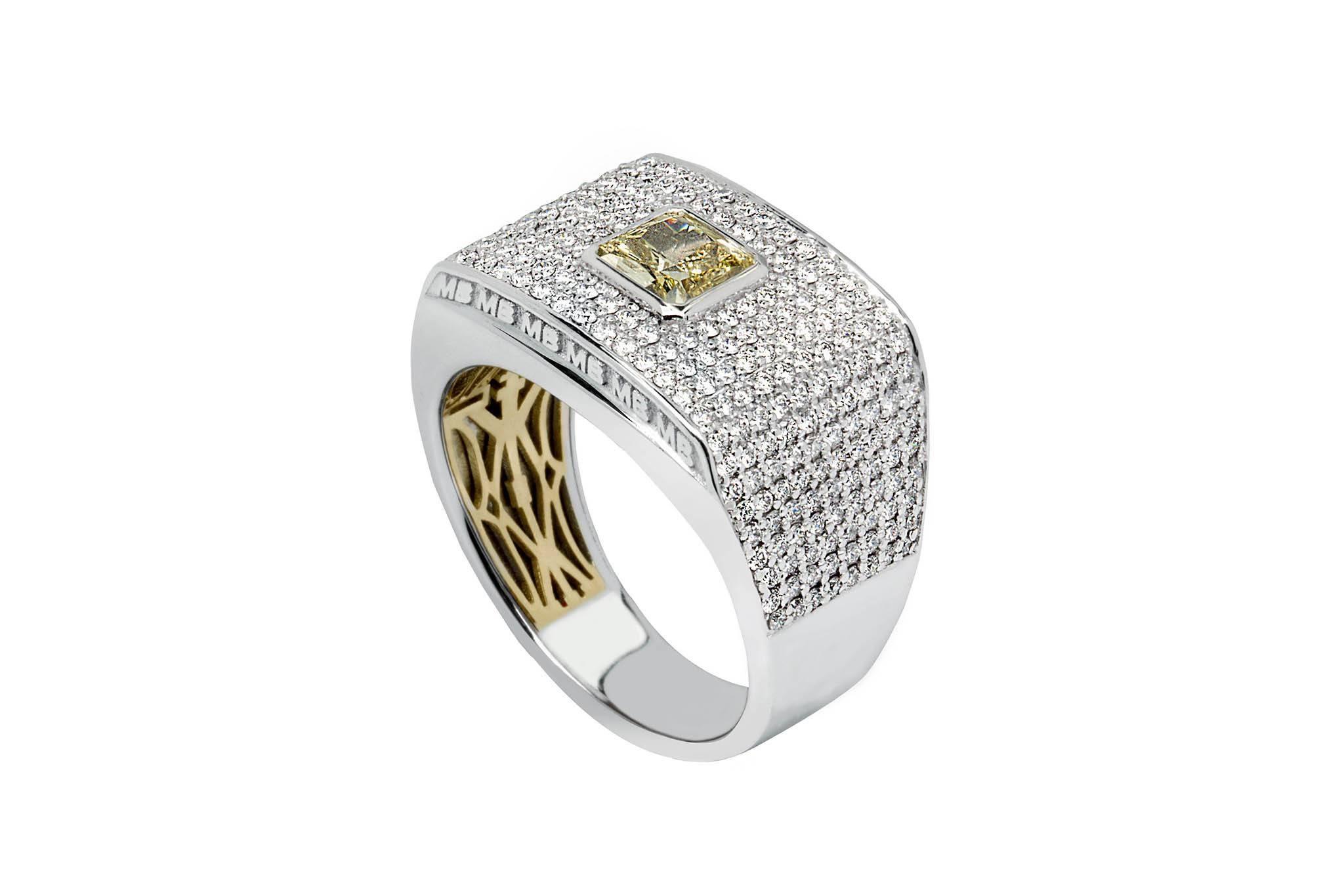 Wedding Rings For Him | Kalfin Intended For Custom Design Wedding Rings (View 2 of 15)