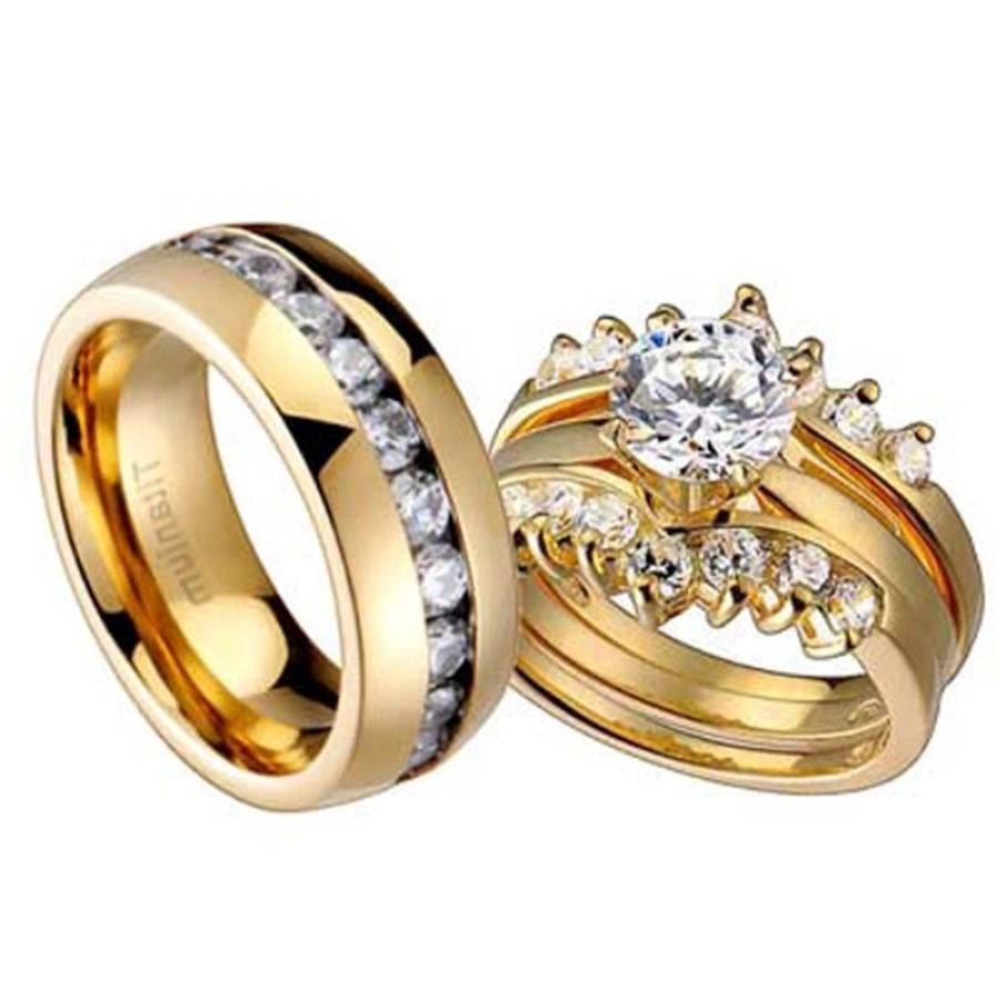 Wedding Rings For Men And Women | Wedding, Promise, Diamond With Regard To Men And Women Wedding Bands Sets (View 3 of 15)