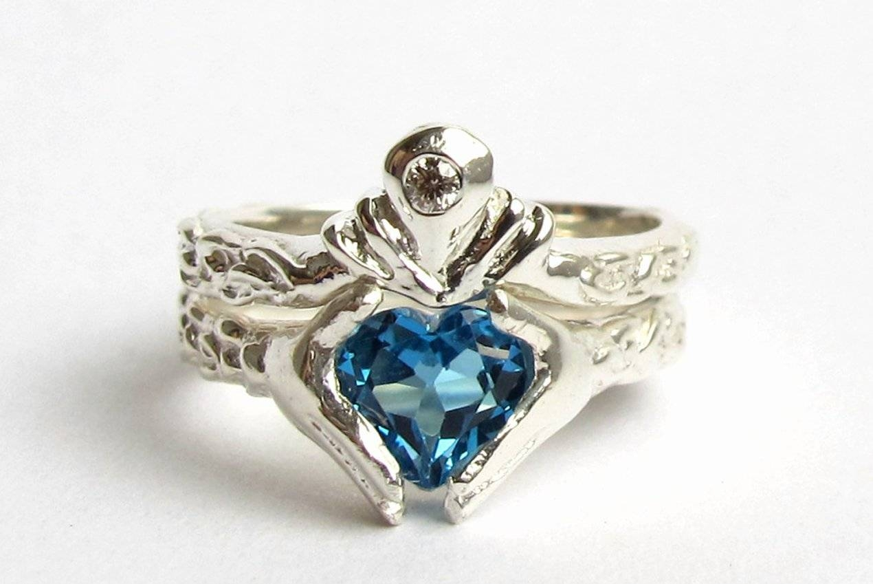 Wedding Rings : Graff Rare Fancy Blue Diamond Ring 10 Alternative With Blue Line Engagement Rings (View 12 of 15)