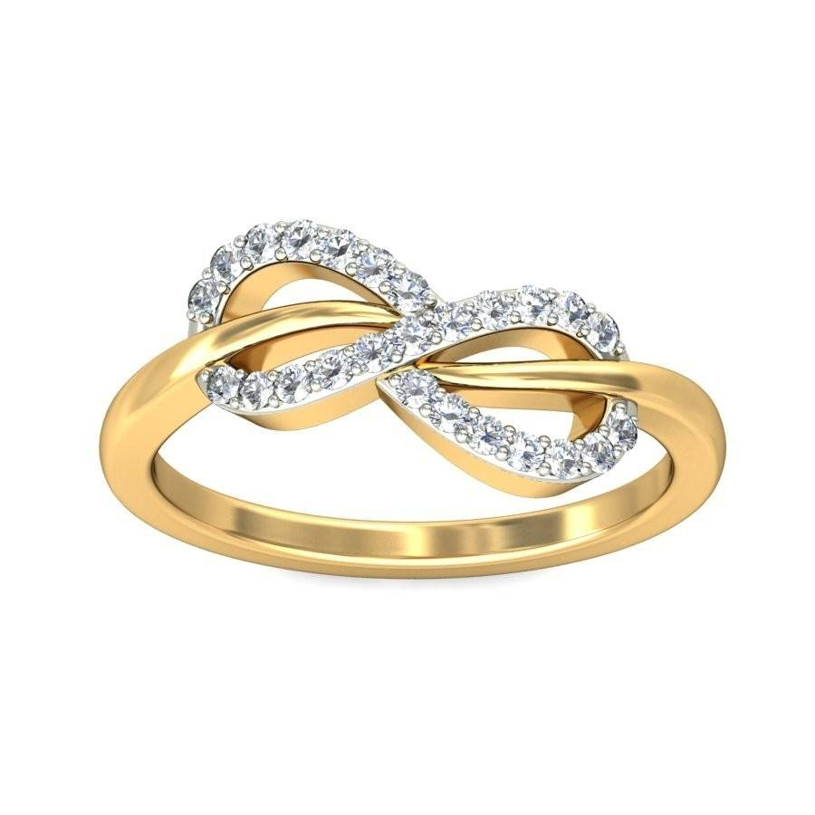 Wedding Rings : Infinity Band Engagement Ring Infinity Ring Within Infinity Style Engagement Rings (View 14 of 15)