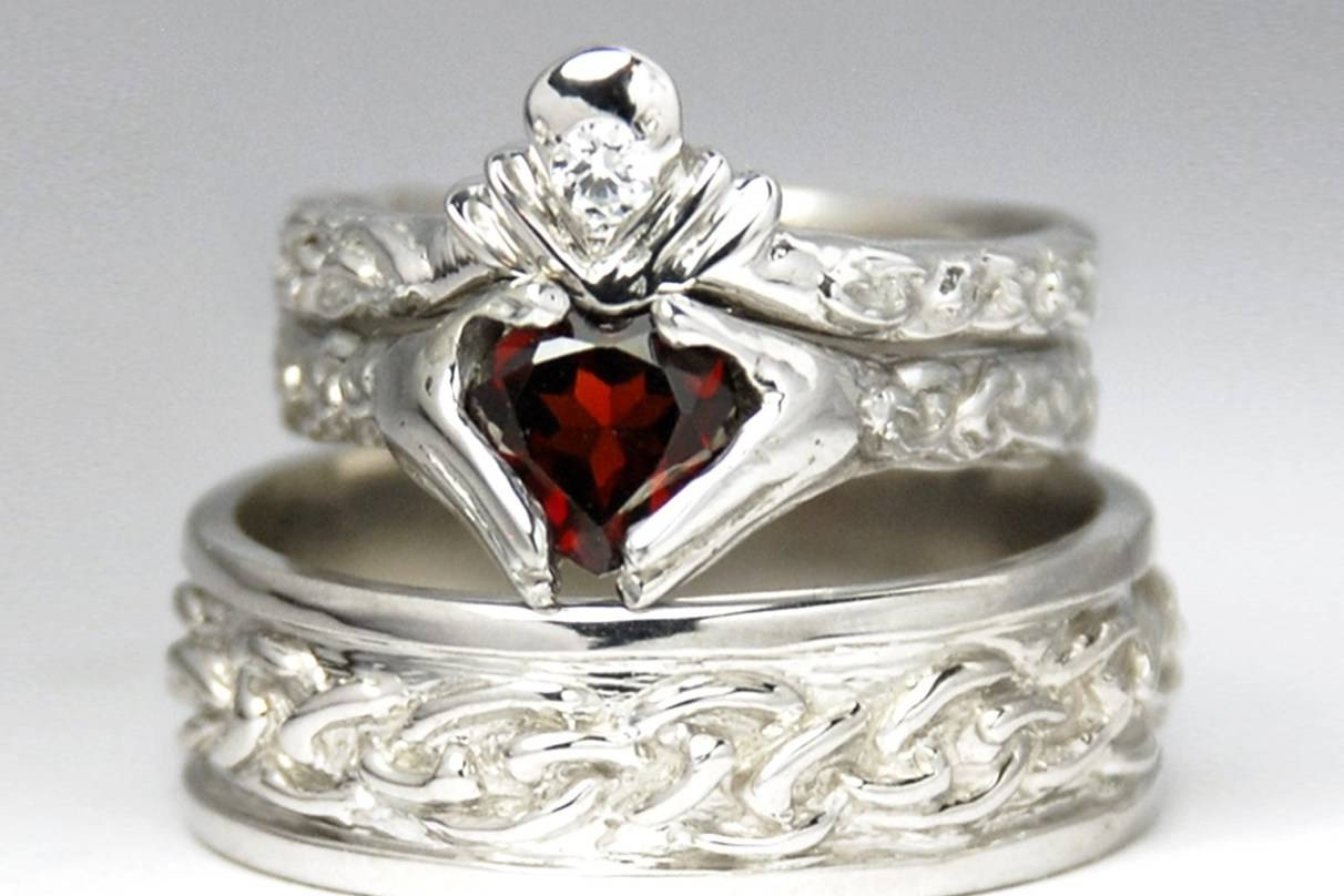 Wedding Rings : Irish Claddagh Wedding Ring Prodigious Irish Inside Mens Claddagh Wedding Rings (View 15 of 15)