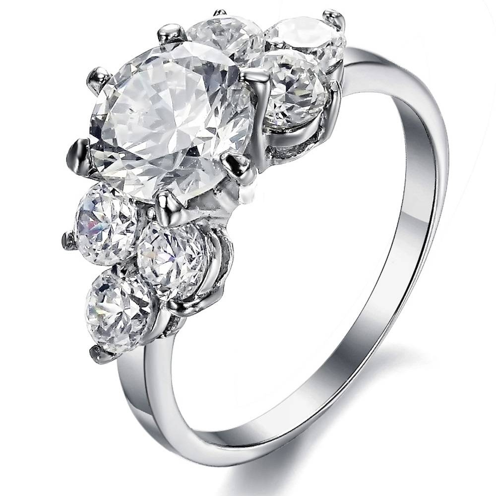 Wedding Rings : Ladies Wedding Rings Wedding Ring Bands Black Regarding Womans Engagement Rings (View 11 of 15)