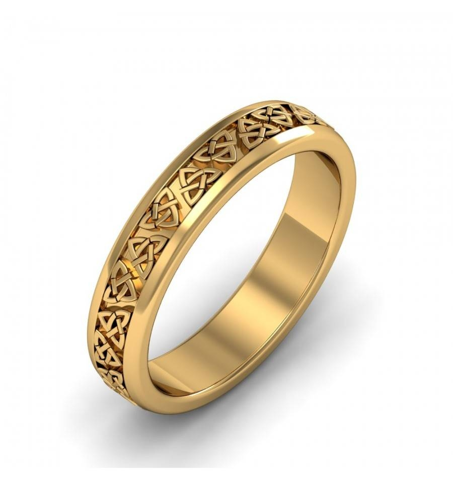 Wedding Rings : Mens Celtic Wedding Bands Gold Irish Celtic Regarding Irish Mens Wedding Bands (View 13 of 15)