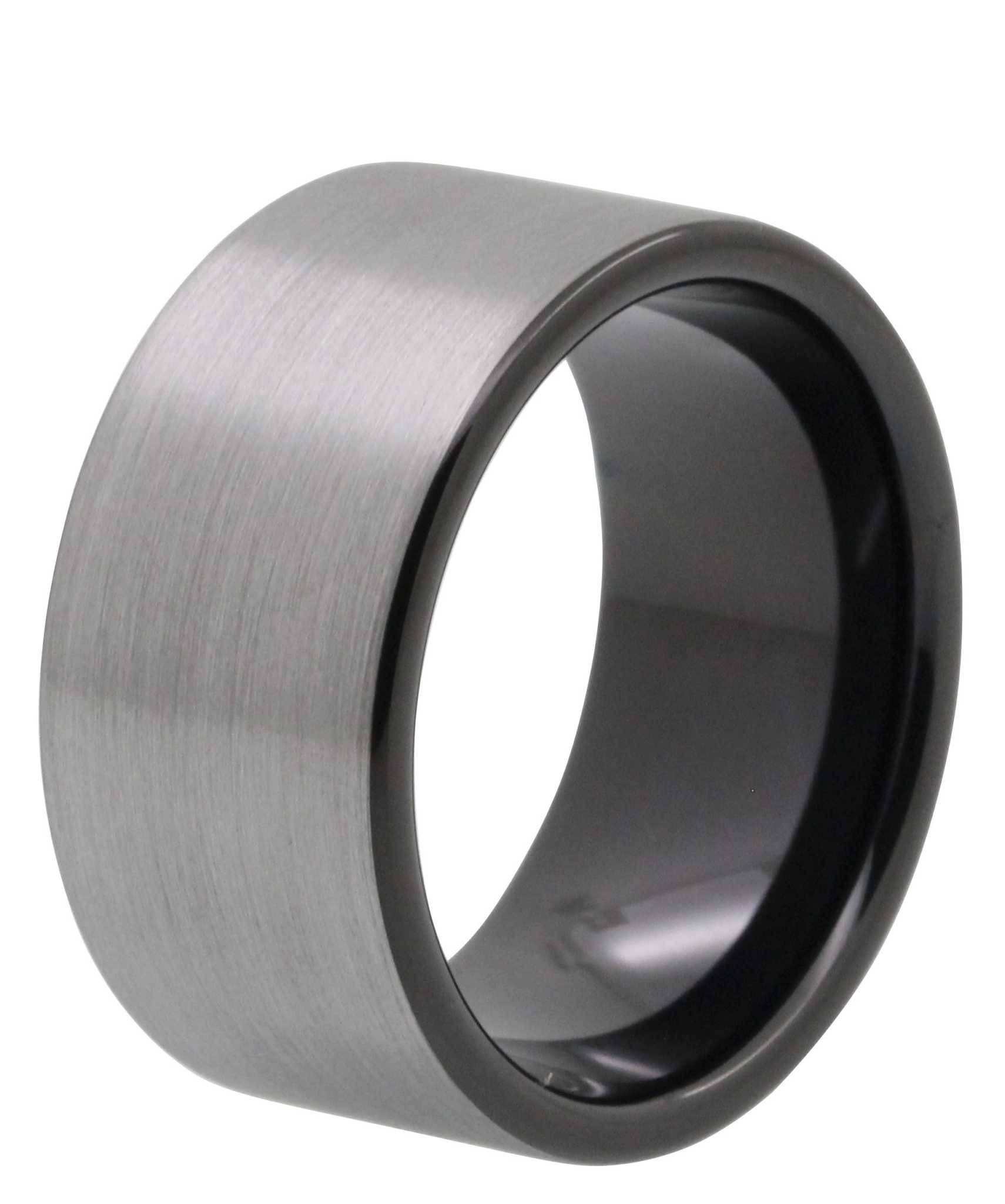 Wedding Rings : Mens Tungsten Wedding Band With Black Carbon Fiber In Mens Carbon Fiber Wedding Rings (View 15 of 15)