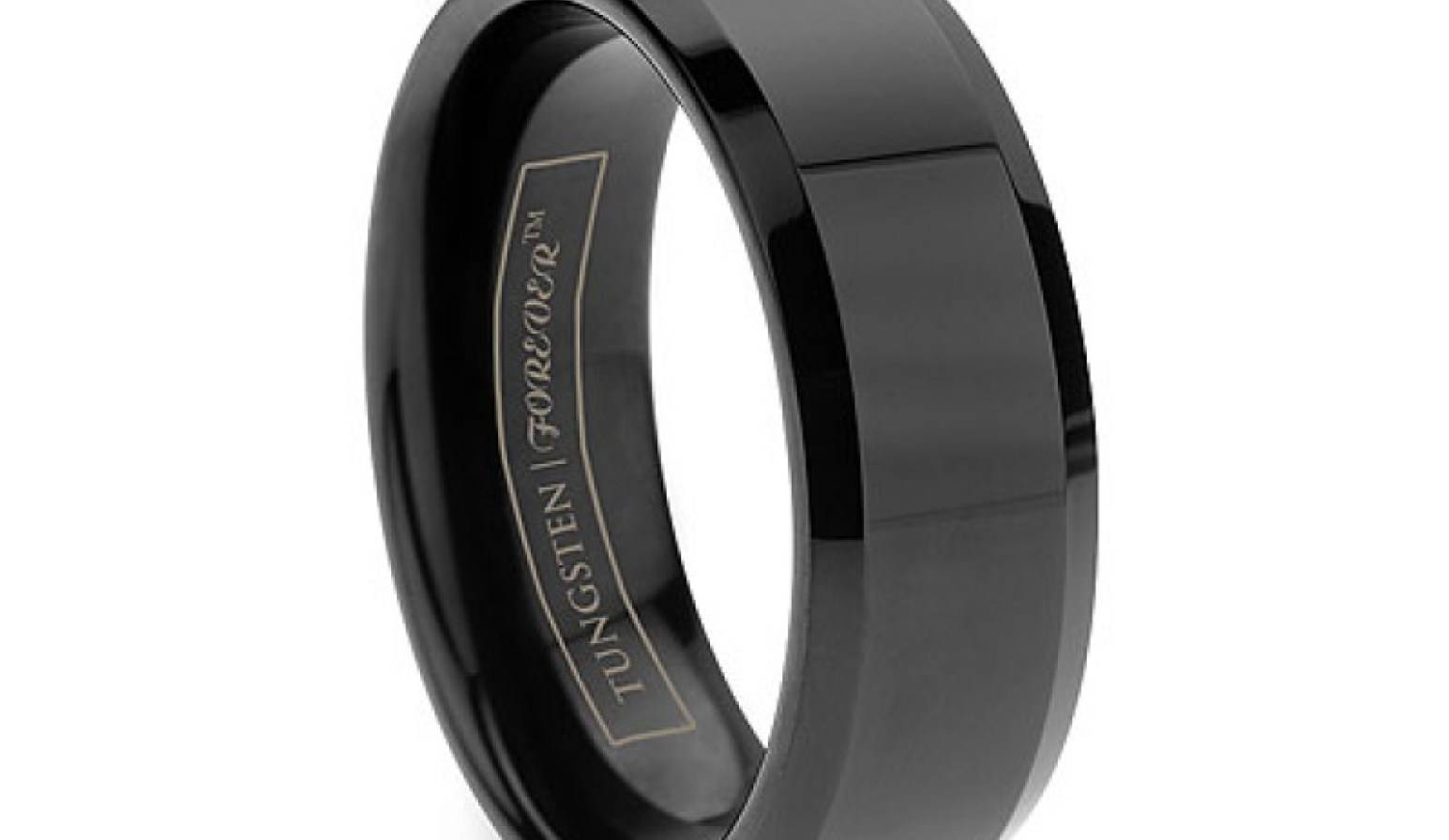 Wedding Rings : Mens Tungsten Wedding Ring Astounding Within Matte Black Men's Wedding Bands (Gallery 13 of 15)