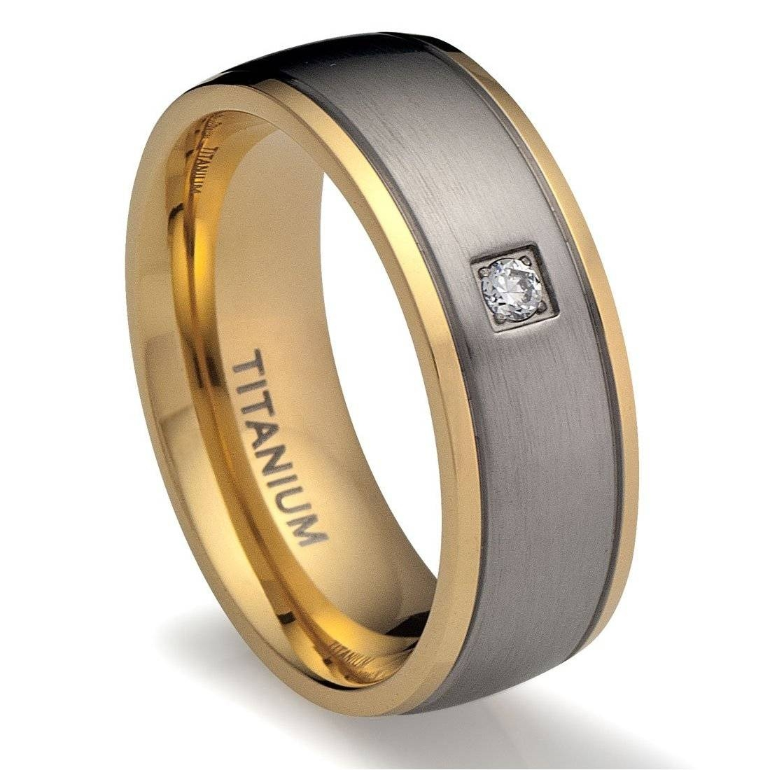 Wedding Rings : Mens Unique Wedding Bands Black Titanium The Pertaining To Cool Wedding Bands For Guys (View 1 of 15)