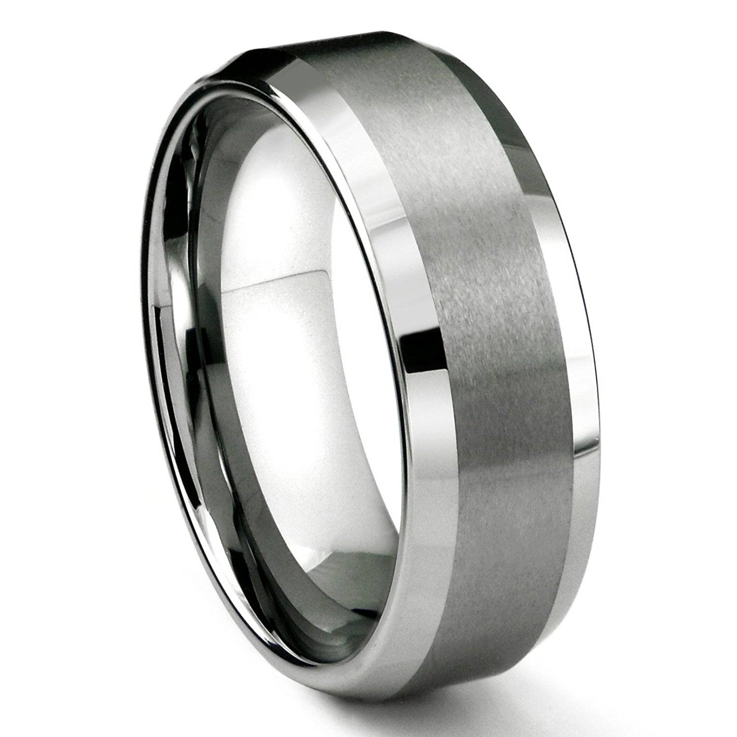 Wedding Rings : Mens Wedding Band Titanium 1 Beautiful Mens Intended For Men's Wedding Bands Size  (View 14 of 15)