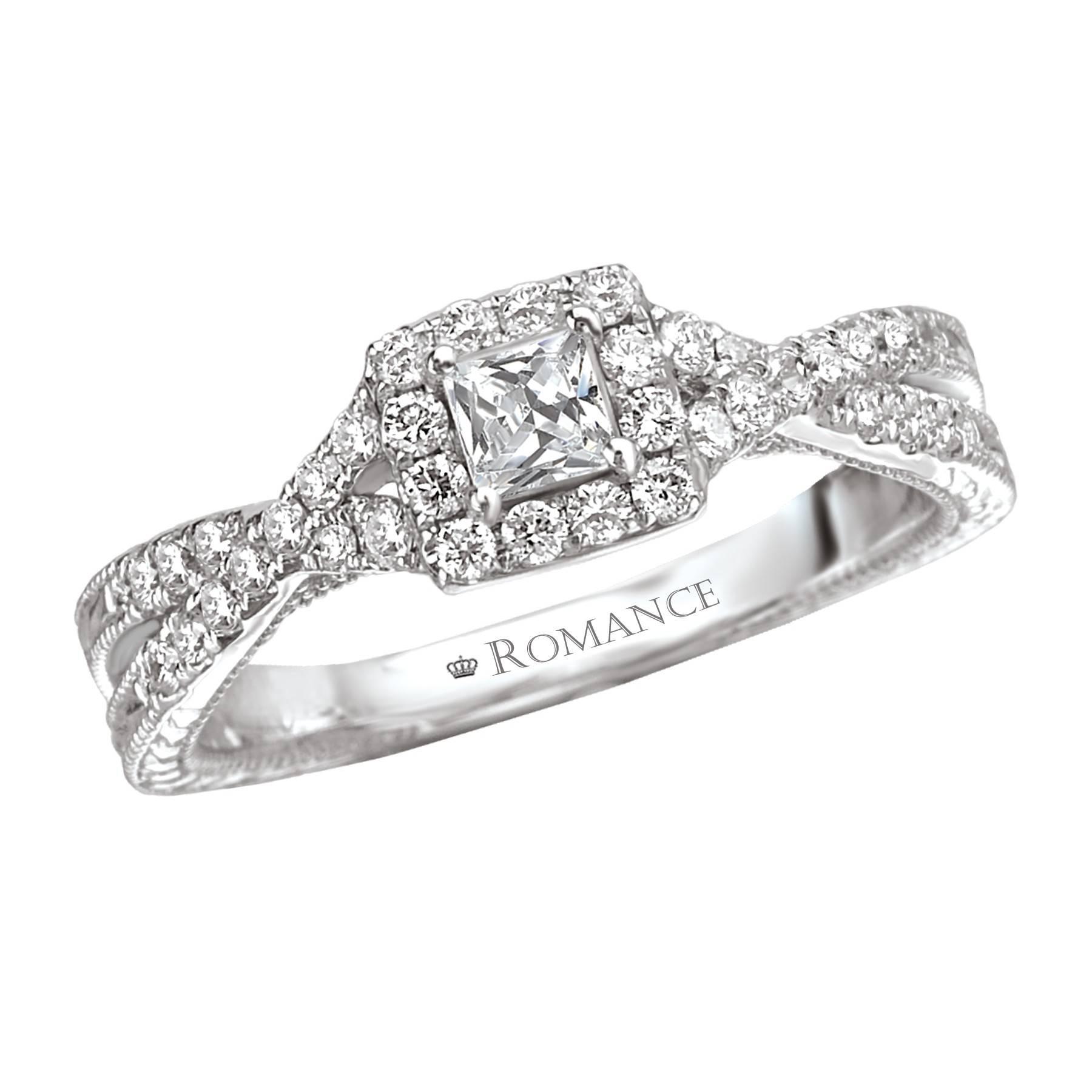 Wedding Rings : Princess Cut Wedding Ring Wraps Choosing The Regarding Princess Cut Wedding Rings For Women (View 3 of 15)