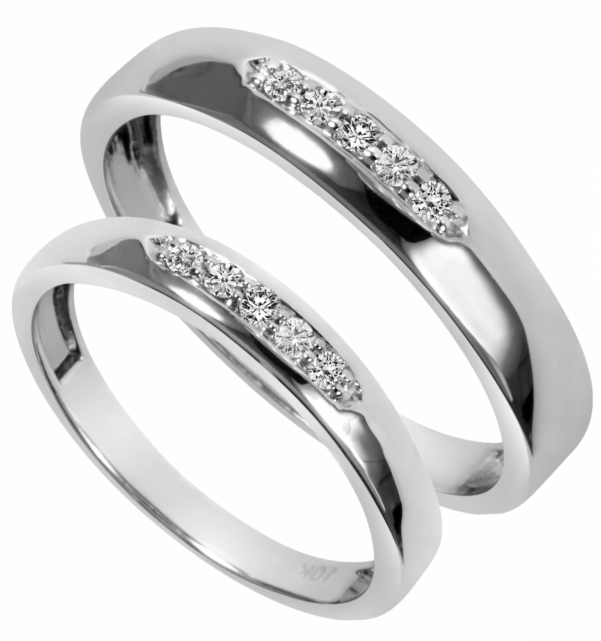 Wedding Rings : Remarkable Wedding Rings Sets His And Hers Picture In Matching Engagement Rings For Him And Her (View 10 of 15)