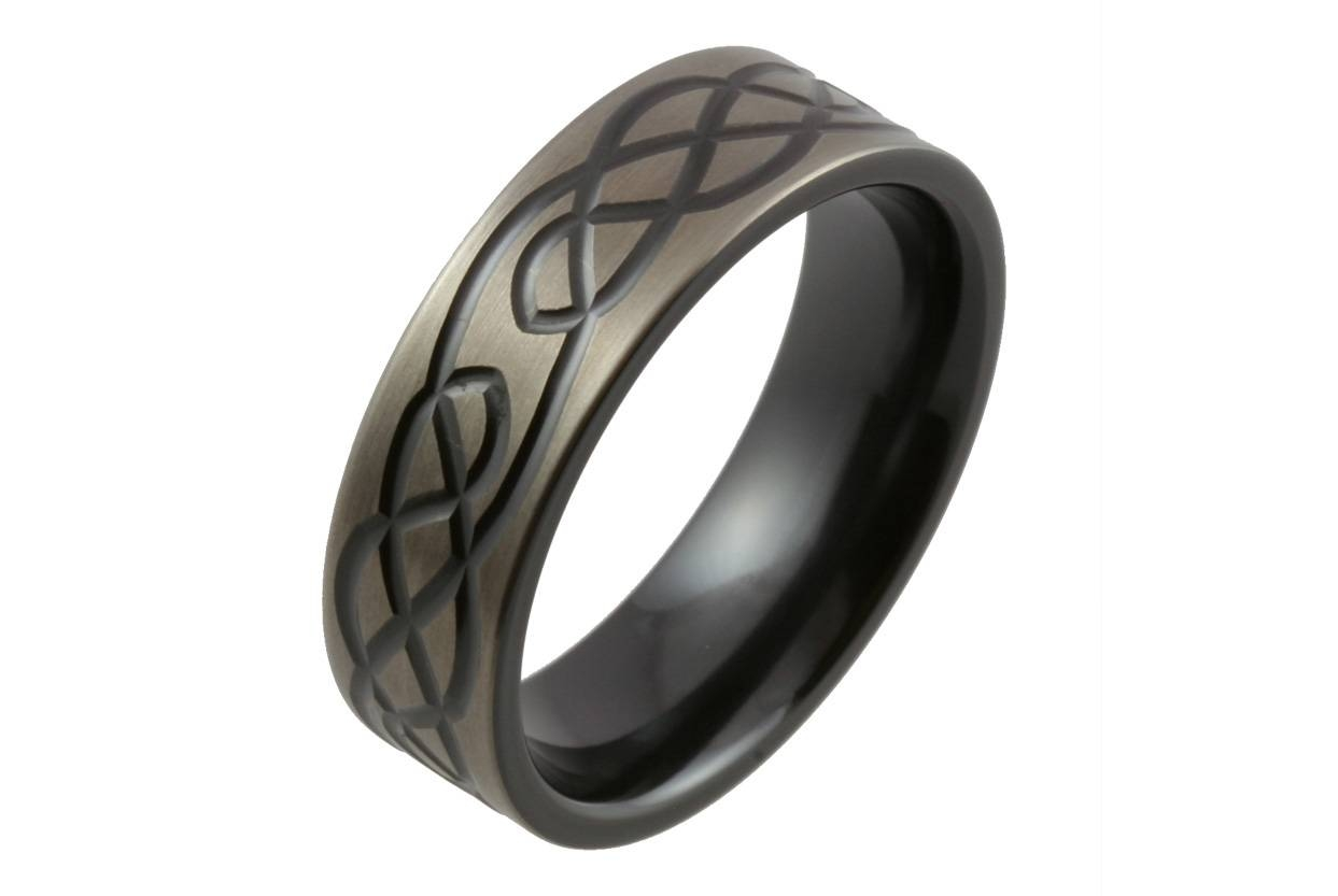 Wedding Rings : Rings For Groom Mens Rings Tungsten Carbide For Mens Irish Wedding Rings (View 15 of 15)