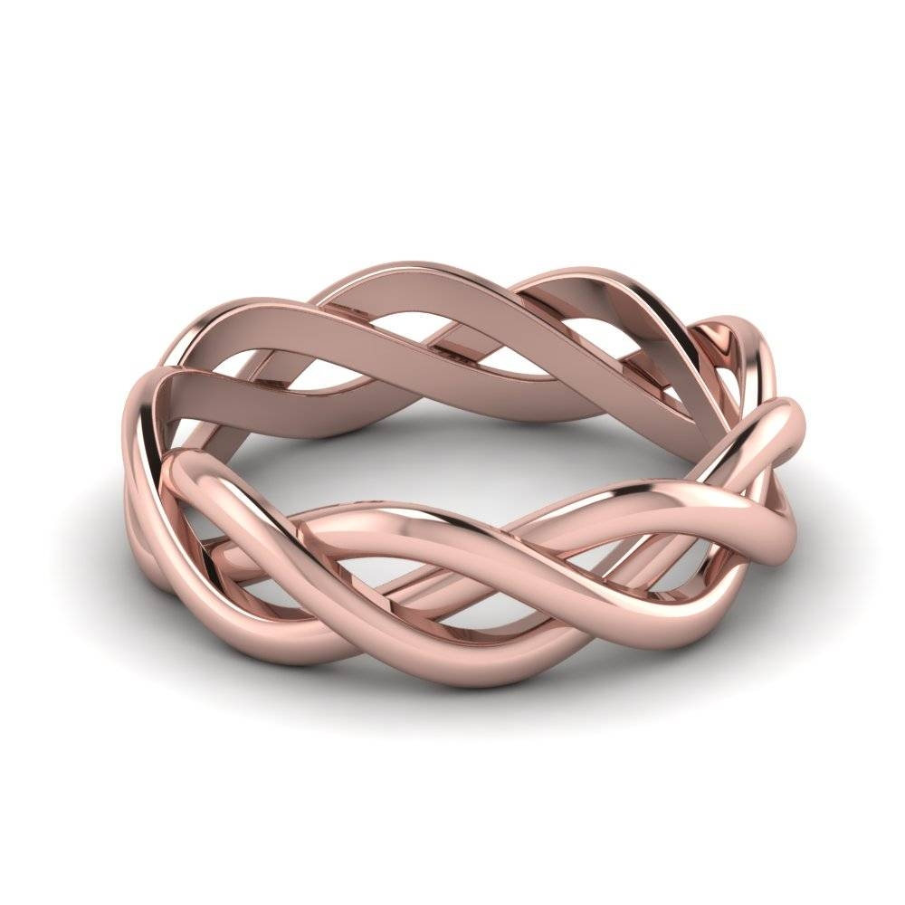 Wedding Rings : Rose Gold Wedding Ring And Band The Sweet Pink For Male Rose Gold Wedding Bands (View 7 of 15)