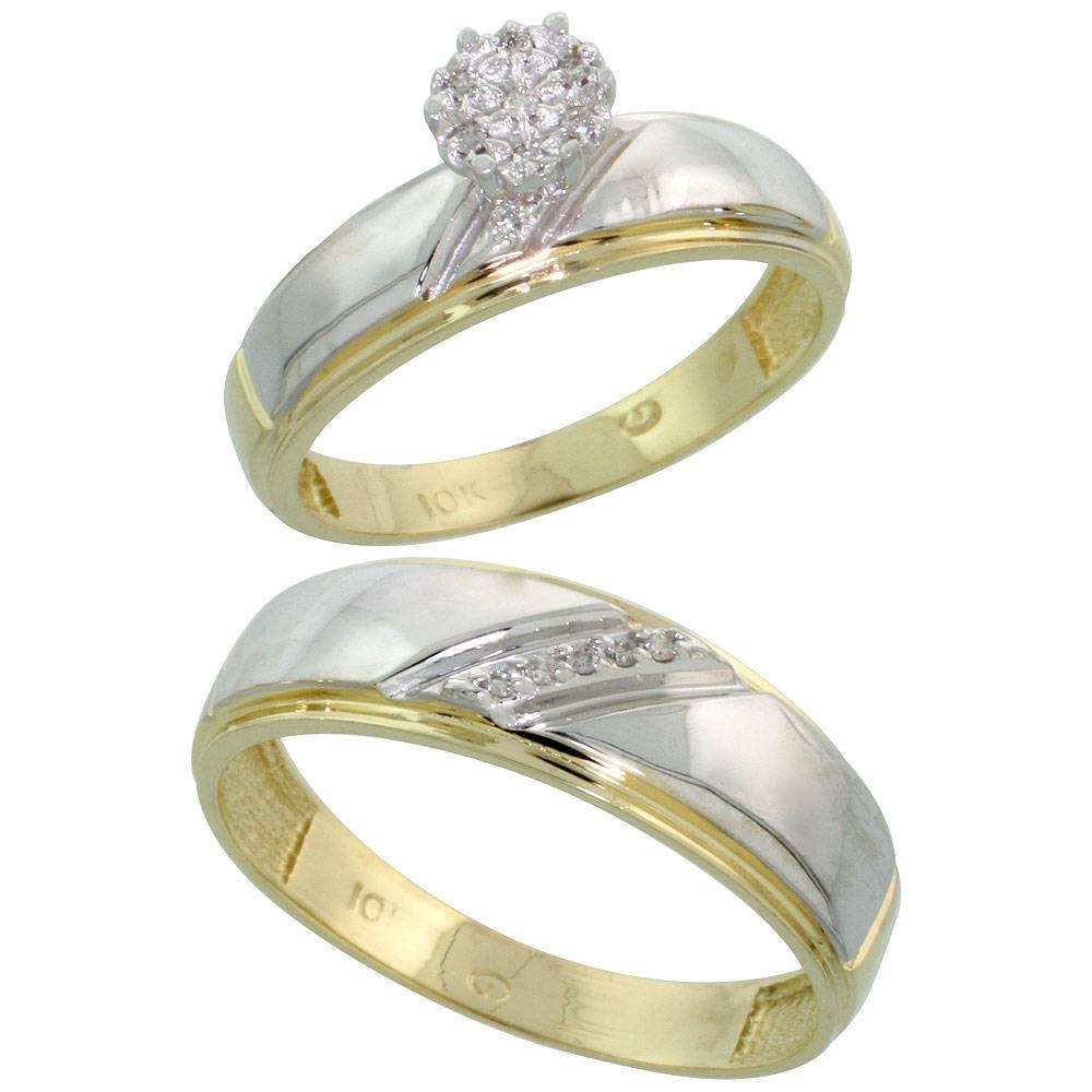 wedding ring sets for women 15 collection of men and women wedding bands sets 9995