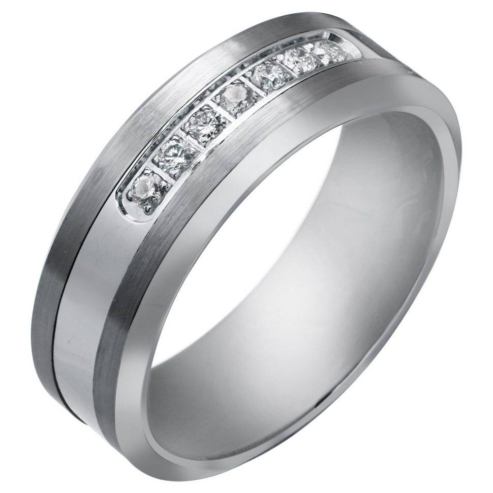 Wedding Rings : Striking Design Of Tungsten Wedding Bands For Men Intended For Unique Tungsten Wedding Rings (View 12 of 15)